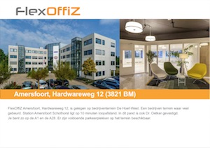 Brochure FlexOffiZ Den Haag