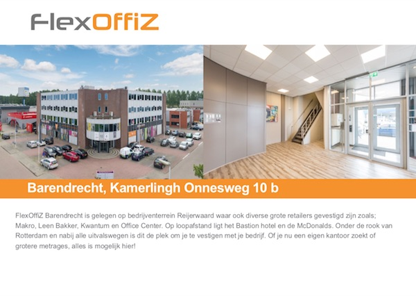 FlexOffiZ Barendrecht Brochure